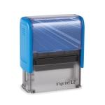 IMPRINT-2 8912 kék fekete párnával