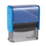 IMPRINT-3 8913 kék fekete párnával
