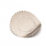 Dombornyomó címke ezüst 250 db/tekercs