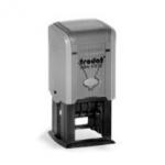 Printy 43132 ISO szürke ház / lila párna 32 x 32 mm,  dát.: 3 mm