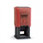 Printy 43132 ISO piros ház / lila párna 32 x 32 mm,  dát.: 3 mm