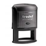 Printy 44045/FEKETE 45x30 mm ovális