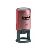 Printy dátumbélyegző 46145 ISO kék/piros színű párnával 45 mm kör