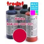 Trodat festék 7012 vörös 28 ml (színkód: 205.000.057) Multi Color Impression