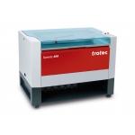 Trotec 8023 Speedy-400 C120 CO2 síkágyas lézergravírozó gép és tartozékai