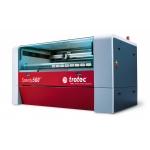 Trotec 8014 SP500 C200 CO2 vízhűtéses síkágyas lézergravírozó gép és tartozékai