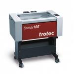 Trotec 8010 Speedy-100 R C60 CO2 síkágyas lézergravírozó gép és tartozékai