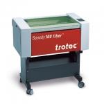 Trotec 8016 Speedy-100 fiber F10 Yb FIBER síkágyas lézergravírozó gép és tartozékai