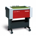 Trotec 8028 Speedy-100 flexx C60/F20 - 60W CO2 / 20W FIBER léghűtéses síkágyas lézergravírozó gép