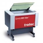 Trotec 8017 Speedy-300 fiber F20 síkágyas lézergravírozó gép és tartozékai