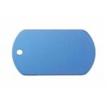 Gravírozható biléta alu dögc dögcédula 50x29 mm kék (122254)