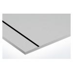 AlumaMark 0,5 mm ezüst/fekete 609x508mm selyemfényű (AluFix) 3947
