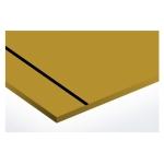 AlumaMark 0,5 mm arany/fekete 609x508mm selyemfényű (AluFix) 3948