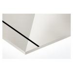AlumaMark 0,5mm ezüst/fekete 508x305mm fényes, tükrös (AluFix) 47638