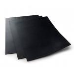 Lézergumi OLIO 2,3 mm A4 fekete, 55 ShA (34246) olajos bélyegzőfestéknek is ellenálló