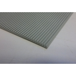 Lézergumi kirakós bélyegzőhöz A4, 3mm, szürke bordás 60 ShA