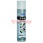 markSolid 114 aerosol spray fémre, fekete, 300ml CO2/YAG/YBF lézerekhez