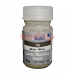 markSolid 150 fehér szín, sötét fémeken, 35gr CO2/YAG/YBF lézerekhez