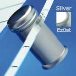 Távtartó FISSO MIDI ezüst hosszúság: 21 mm, átmérő: 15 mm F1521AR