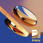 Távtartó FISSO MINI arany hosszúság: 6 mm, átmérő: 15 mm FN1506GD