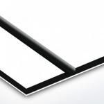 TroLase 1,6 mm Fehér/Fekete/Fehér (3 réteg) 616 x 1245 mm / L204-306 (kültéri)