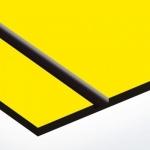 TroLase 0,8 mm Sárga/Fekete (2 réteg) 616 x 1245 mm / L704-203 (kültéri)