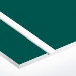TroLase 0,8 mm Örökzöld/Fehér (2 réteg) 616 x 1245 mm / L912-203 (kültéri)