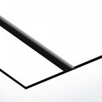 TroLase Lights 0,1 mm Fehér/Fekete (2 réteg+öntapadó) 305 x 600 mm / LL62-201 (kültéri)