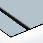TroLase Lights 0,1 mm Szálh. Ezüst/Fekete (2 réteg+öntapadó) 305 x 600 mm / LL63-201 (kültéri)