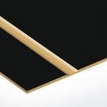 TroLase Lights 0,1 mm Fekete/Arany (2 réteg+öntapadó) 305 x 600 mm / LL65-201 (kültéri)