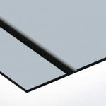 TroLase Lights 0,1 mm Ezüst/Fekete (2 réteg+öntapadó) 305 x 600 mm / LL73-201 (kültéri)