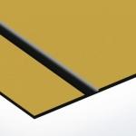 TroLase Lights 0,1 mm Arany/Fekete (2 réteg+öntapadó) 305 x 600 mm / LL74-201 (kültéri)