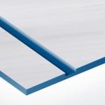 TroLase Metallic Plus 0,8 mm Szálhúzott Acél/Kék (2 réteg) 616 x 1245 mm / LMT+315-203 (kültéri)