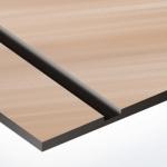 TroLase Metallic Plus 0,8 mm Szálhúzott Vörösréz/Fekete (2 réteg) 616 x 1245 mm / LMT+864-203 (kültéri)