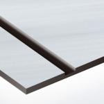 TroLase Metallic 0,8 mm Szálhúzott Ezüst/Fekete (2 réteg) 616 x 1245 mm / LMT334-203 (beltéri)