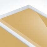 TroLase Reverse 1,6 mm Víztiszta/Arany (2 réteg) 616 x 1245 mm / LR710-206 (kültéri)