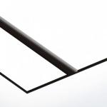 TroLase Thins 0,5 mm Fehér/Fekete (2 réteg) 614 x 1245 mm / LT204-202 (beltéri)