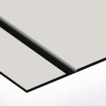 TroLase Thins 0,5 mm Ezüst/Fekete (2 réteg) 614 x 1245 mm / LT344-202 (beltéri)