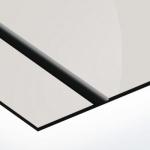TroLase Thins 0,5 mm Tükör Ezüst/Fekete (2 réteg) 614 x 1245 mm / LT394-202 (beltéri)