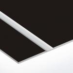 TroLase Thins 0,5 mm Matt Fekete/Ezüst (2 réteg) 614 x 1245 mm / LT413-202 (beltéri)