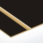 TroLase Thins 0,5 mm Matt Fekete/Arany (2 réteg) 614 x 1245 mm / LT417-202 (beltéri)