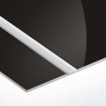 TroLase Thins 0,5 mm Fényes Fekete/Ezüst (2 réteg) 614 x 1245 mm / LT423-202 (beltéri)