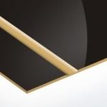 TroLase Thins 0,5 mm Fényes Fekete/Arany (2 réteg) 614 x 1245 mm / LT427-202 (beltéri)