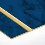 TroLase Thins 0,5 mm Kék Márvány/Arany (2 réteg) 614 x 1245 mm / LT577-202 (beltéri)