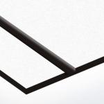 TroLase Textures 1,6 mm Fehér/Fekete (2 réteg) 616 x 1245 mm / LTX244-206 (kültéri)