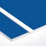 TroLase Textures 1,6 mm Zafírkék/Fehér (2 réteg) 616 x 1245 mm / LTX503-206 (kültéri)