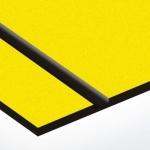TroLase Textures 1,6 mm Sárga/Fekete (2 réteg) 616 x 1245 mm / LTX774-206 (kültéri)