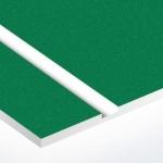 TroLase Textures 1,6 mm Sötétzöld/Fehér (2 réteg) 616 x 1245 mm / LTX962-206 (kültéri)