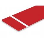 TroLase Foil 0,2 mm Piros/Fehér/(2 réteg+öntapadó) 305 x 610 mm / 139688  (kültéri)