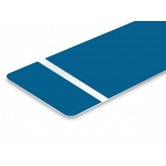 TroLase Foil 0,2 mm Kék/Fehér (2 réteg+öntapadó) 305 x 610 mm / 139689 (kültéri)